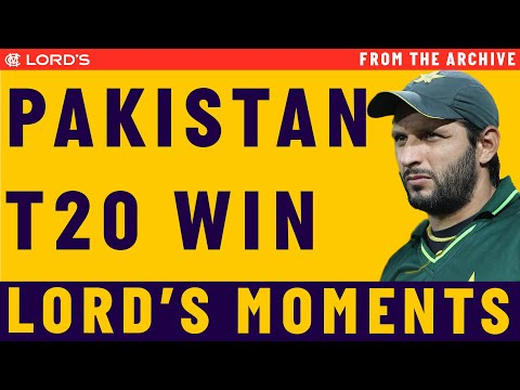 Shahid Afridi steers Pakistan to T20 World Cup Glory in 2009  Match Highlights