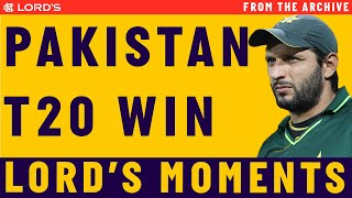 Shahid Afridi steers Pakistan to T20 World Cup Glory in 2009 | Match Highlights | Lord's