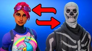HOW TO SWAP YOUR SKINS! -Fortnite Battle Royale