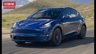 Представлен новый кроссовер Tesla Model Y