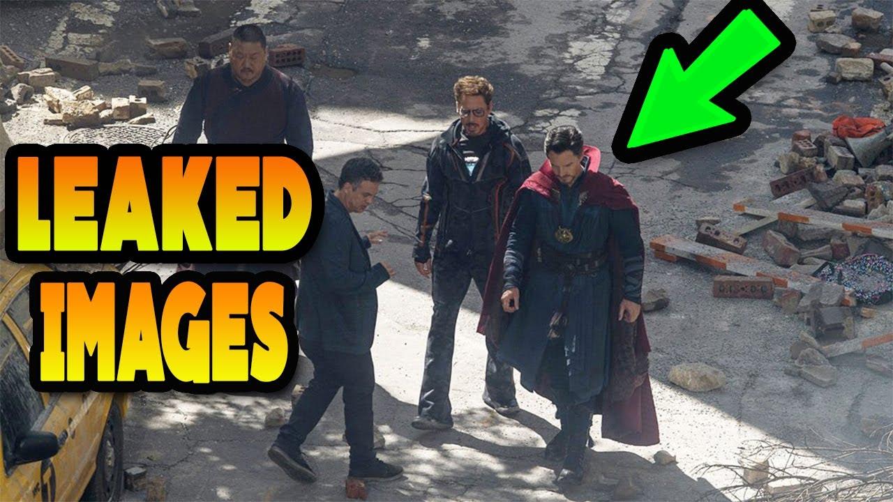 Avengers Infinity War Leaked Images Breakdown Iron Man And Dr Strange
