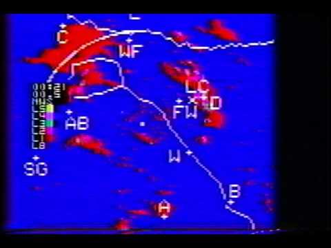 1987 Dallas Tornado Warning