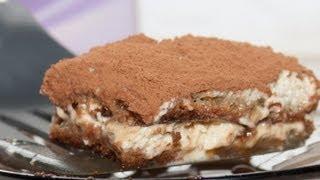 Пироженое «Тирамису» видео рецепт