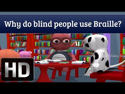 Why Do Blind People Use Braille? | Kids Educational Videos
