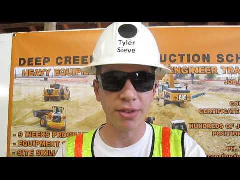 Heavy Equipment Operator Tyler Sieve Video Resume