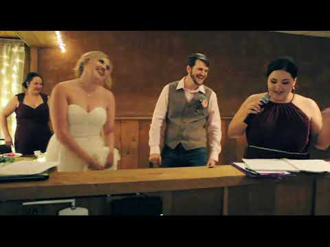 Maid of Honor Raps Wedding Toast