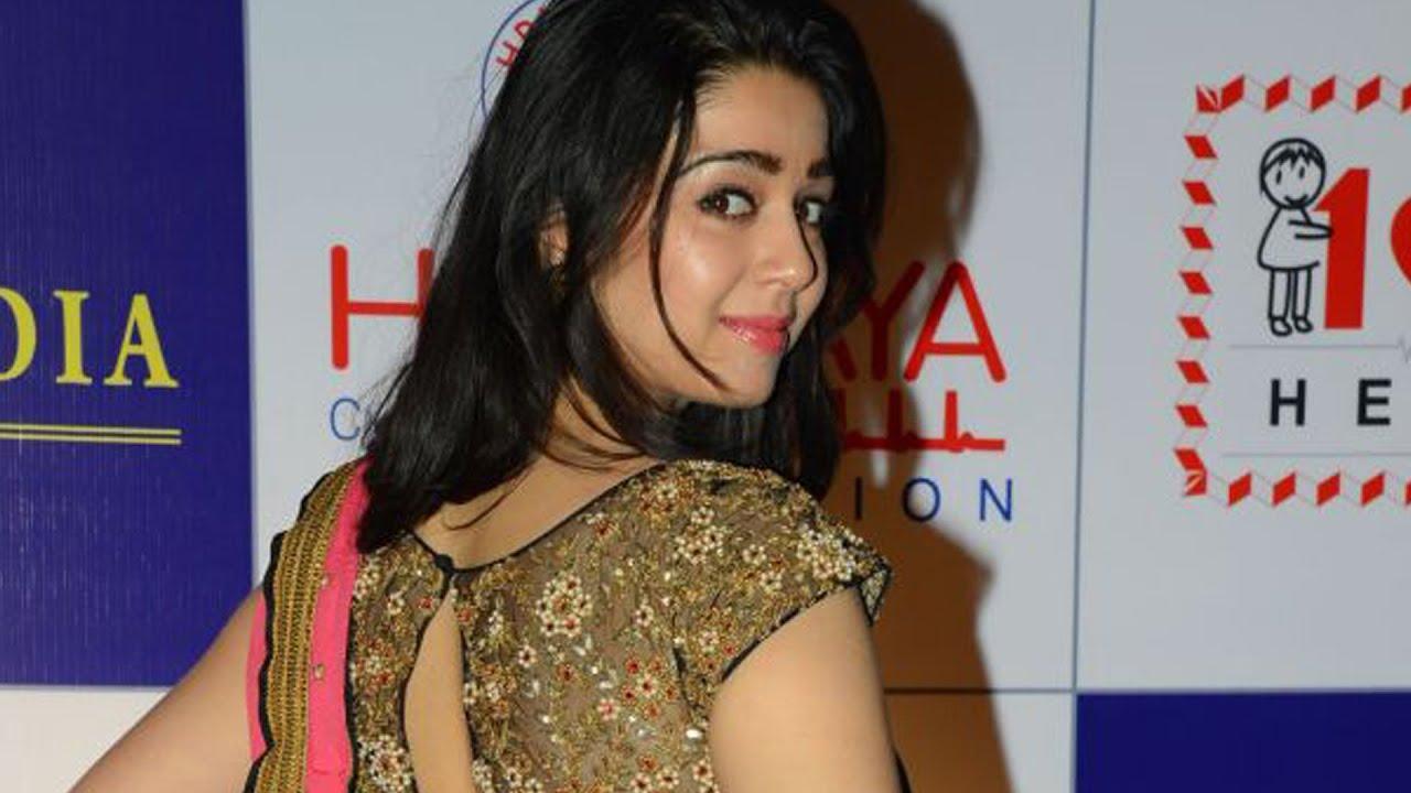 hot telugu actress charmi romantic photoshoot - youtube