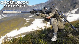 Ghost Recon Breakpoint CRAZY SNIPER KILLS! Ghost Recon Breakpoint Free Roam