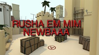 ROBLOX - COUNTER BLOX | RUSHA EM MIM NEWBAAA!!! (Bloxers Club)