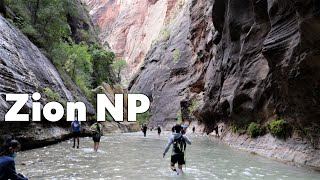 Zion National Park / Watchman Campground Review / Angel's Landing and The Narrows