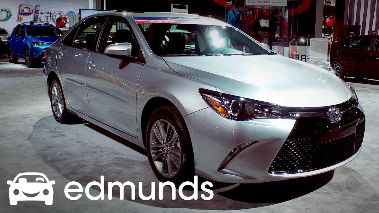2017 Toyota Camry Review Features Rundown Edmunds