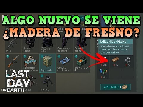 POR FIN MADERA DE FRESNO?? | LAST DAY ON EARTH: SURVIVAL | [RidoMeyer]
