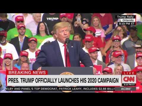Manny's - CNN Cuts Away From Trump Rally After Crowd's CNN Sucks Chant