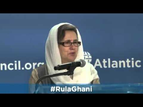 A Conversation with Afghanistan's First Lady Rula Ghani