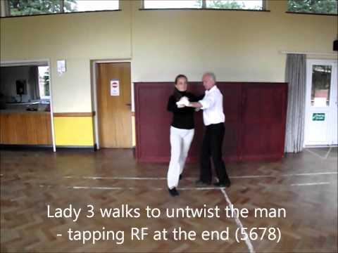 Nikko Paso Doble Sequence Dance Walkthrough
