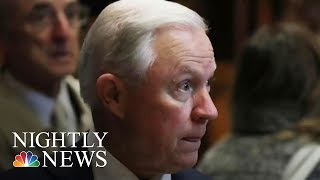Jeff Sessions Shows No Signs Of Backing Down, Despite President Trump's Pressure | NBC Nightly News