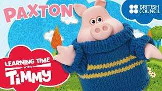 Meet Paxton | Learning Time with Timmy | Cartoons for Kids