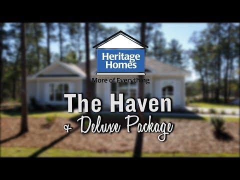 Heritage Homes  |  The Haven + Deluxe Package - Video Tour