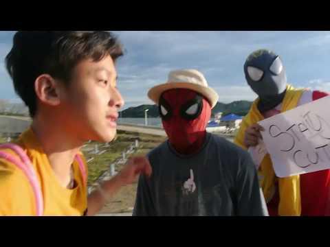 BRUNEI NEW BRIDGE!!!!  *SAW SPIDER-MAN*