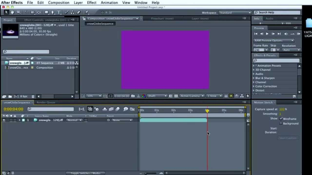 how to add after effect composition into premier pro