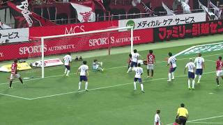 2017年7月9日(日)に行われた明治安田生命J1リーグ 第18節 浦和vs新...
