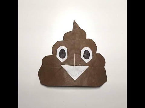 Origami Happy Poop