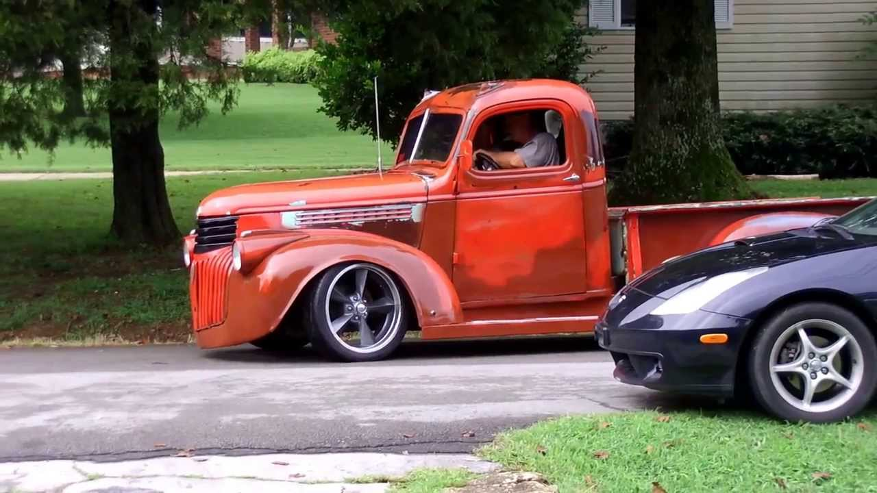 1941 Chevy Truck Custom Wiring Diagrams 1942 Patina Youtube Rh Com 1961 Two Tone Paint
