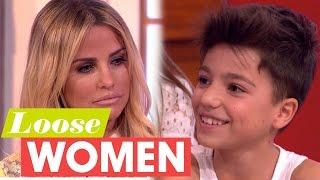 Katie Price's Son Asks Why She Divorced Peter Andre | Loose Women