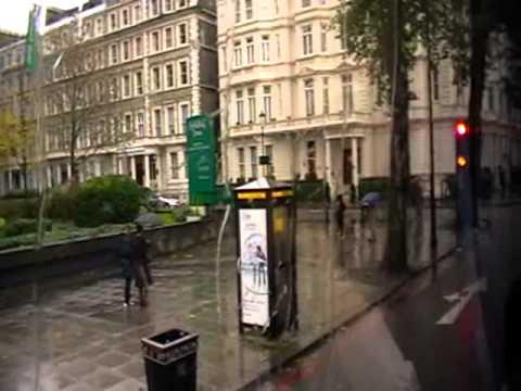 In London...