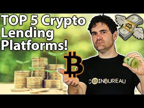 BEST Crypto Lending Platforms: TOP 5 Picks!! 💸