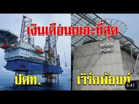 เปิด 10 อันดับ บริษัท ที่สวัสดิการพนักงาน เงินเดือน และ โบนัส ดีที่สุดในประเทศไทย