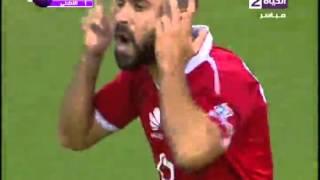 أهداف فوز الأهلي 3 سموحة 1 السعيد ومؤمن زكريا الدوري 26 ابريل 2016