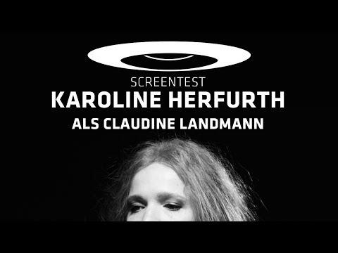 Schulz & Böhmermann  Screentest: Karoline Herfurth als Claudine Landmann