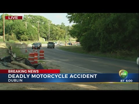 Man Killed In Motorcycle Crash In Dublin