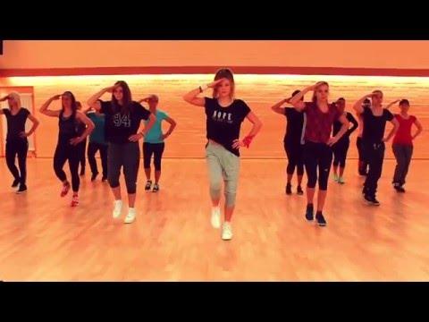 Zumba® Fitness Dance Choreography I POLICEMAN I Eva Simons feat. Konshens I *ZIN Svenja*