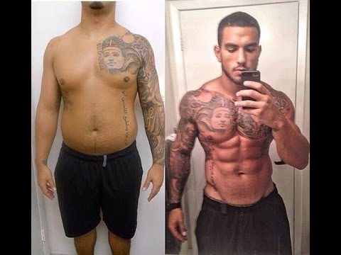 best chubby fat to fit muscular body transformation 2015 - youtube, Muscles