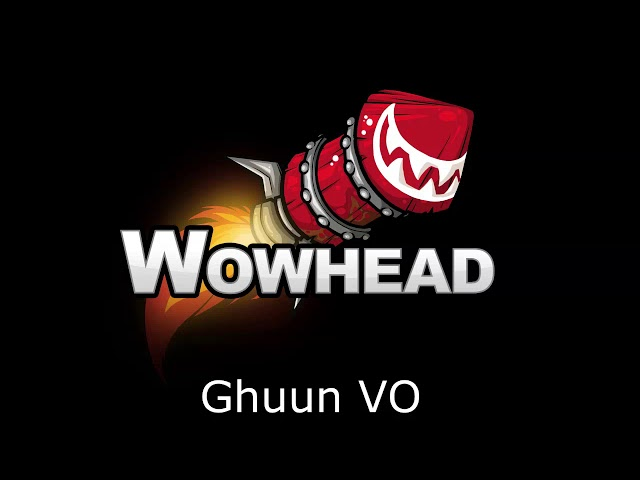 Ghuun Voice Over Patch 8.0.1