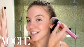 Euphoria's Sydney Sweeney's Guide to Sensitive Skin Care and Soft Glam | Beauty Secrets | Vogue
