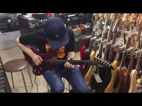 ZION-XXX Guitar By Юрий Шишков (Yuriy Shishkov)