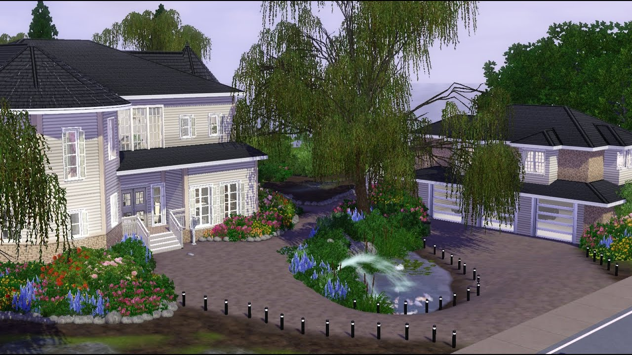 Modern Victorian House the sims 3 modern victorian house. - youtube