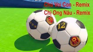 Chú Voi Con Remix - Chị Ong Nâu Remix - Nhạc Thiếu Nhi Sôi Động Cùng Siêu Nhân