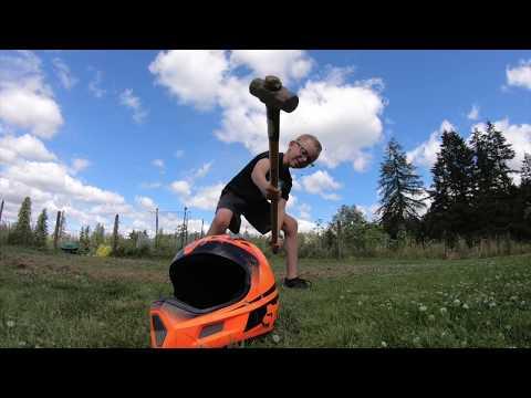 Fox Rampage Comp Helmet Watermelon Smash!