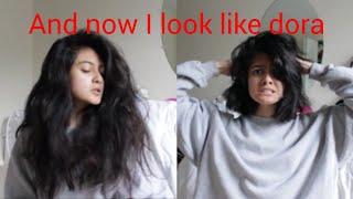 cutting my own hair