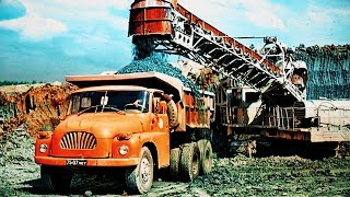 Иномарки в СССР: грузовики из Чехословакии- TATRA SKODA LIAZ PRAGA AVIA [ АВТО СССР #57 ]