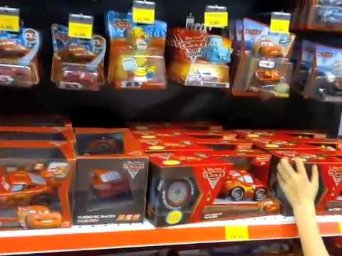 Cars 2 bei toys r us youtube - Maisonnette toys r us ...
