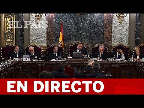 DIRECTO JUICIO DEL PROCÉS   Los testigos de las defensas continúan declarando