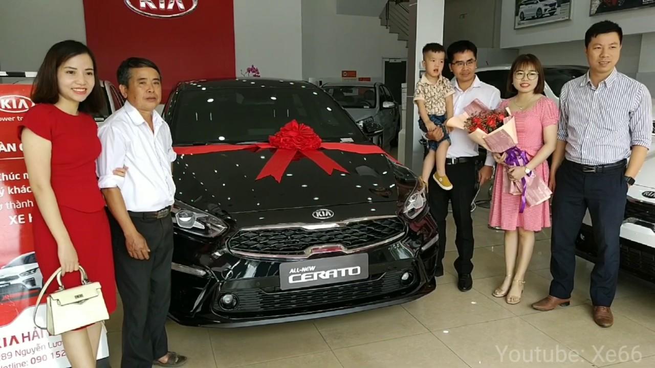 Lễ bàn giao xe Kia Cerato cho Ông Ninh Văn Đô - TVBH: Vũ Quang Phong