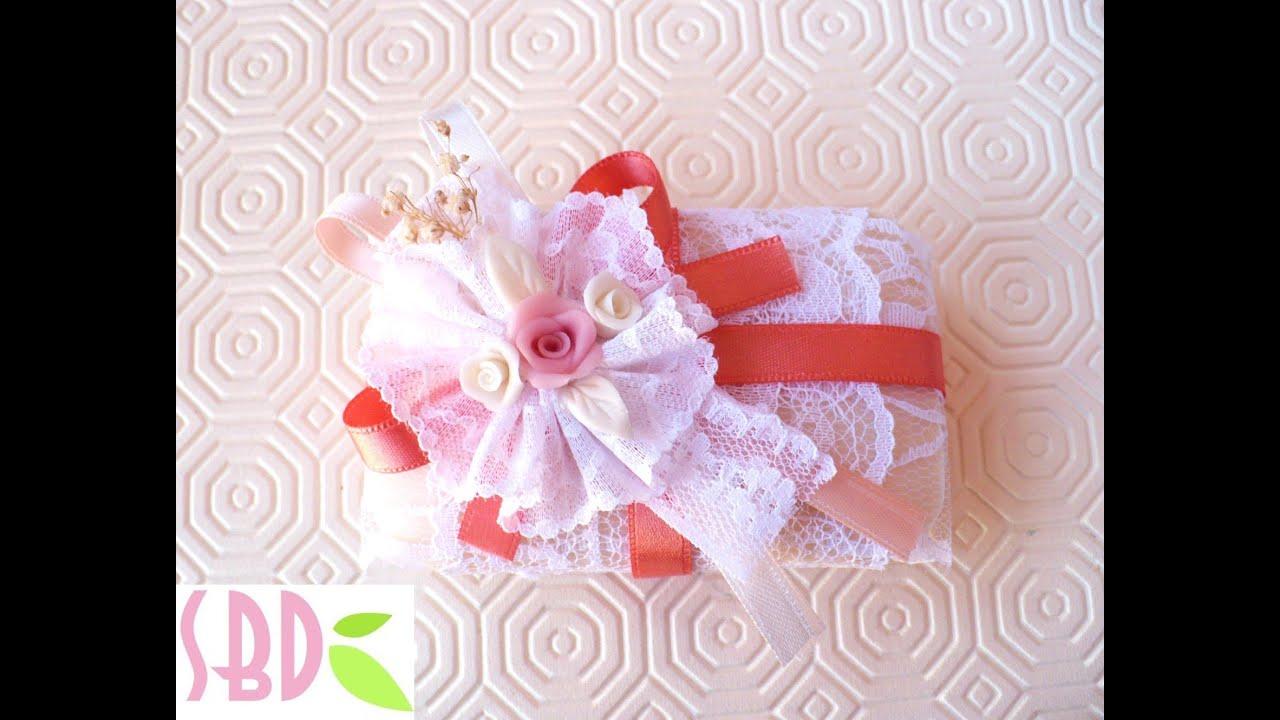 Conosciuto Tutorial: decorare le Saponette decorate 2 - Soap decoration 2 GW92