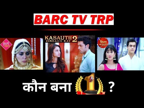 BARC TV TRP:  Which Show Became No. 1 This Week ?