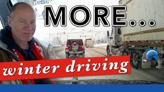 How to Driving in Winter :: Deep Snow & Sub-Zero Temperatures